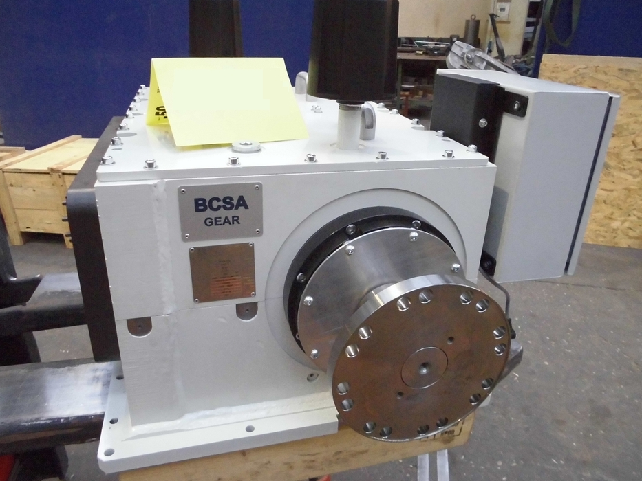 Gearbox for F1 engine test rig