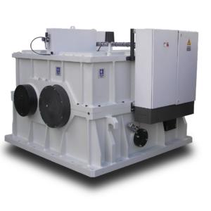 Speed increaser for plane turbine balancing machine, 10MW  6,500 rpm