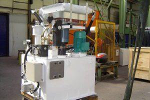 centrale de lubrification aéroréfrigérée