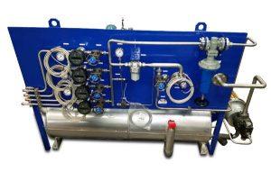 centrale de lubrification haute température pour banc d'essai