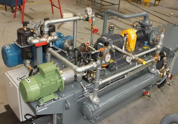 Système de lubrification industriel, centrale de lubrification