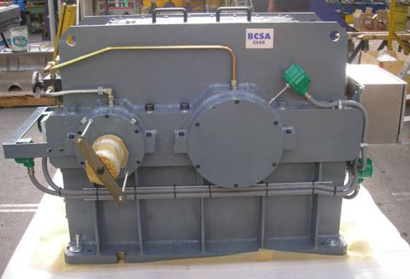 reduction gearbox electric engine alternating compressor