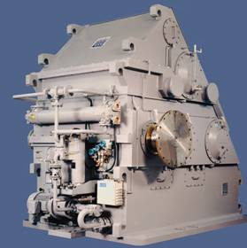 reduction gearbox MAAG, lateral drive gearbox